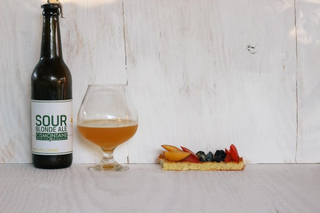 madeleine cake with cismontane sour blonde-4