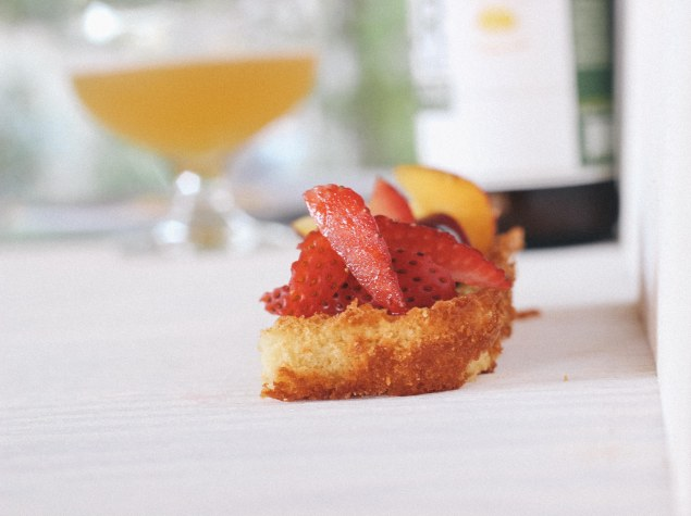 madeleine cake with cismontane sour blonde-6