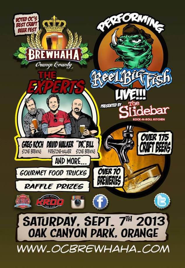 OC Brew Ha Ha flyer