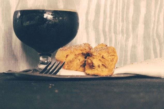 Pumpkin Doughnut Muffins-7