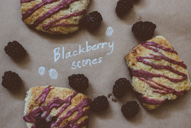 Blackberry Scones-2
