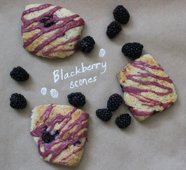 Blackberry Scones-3