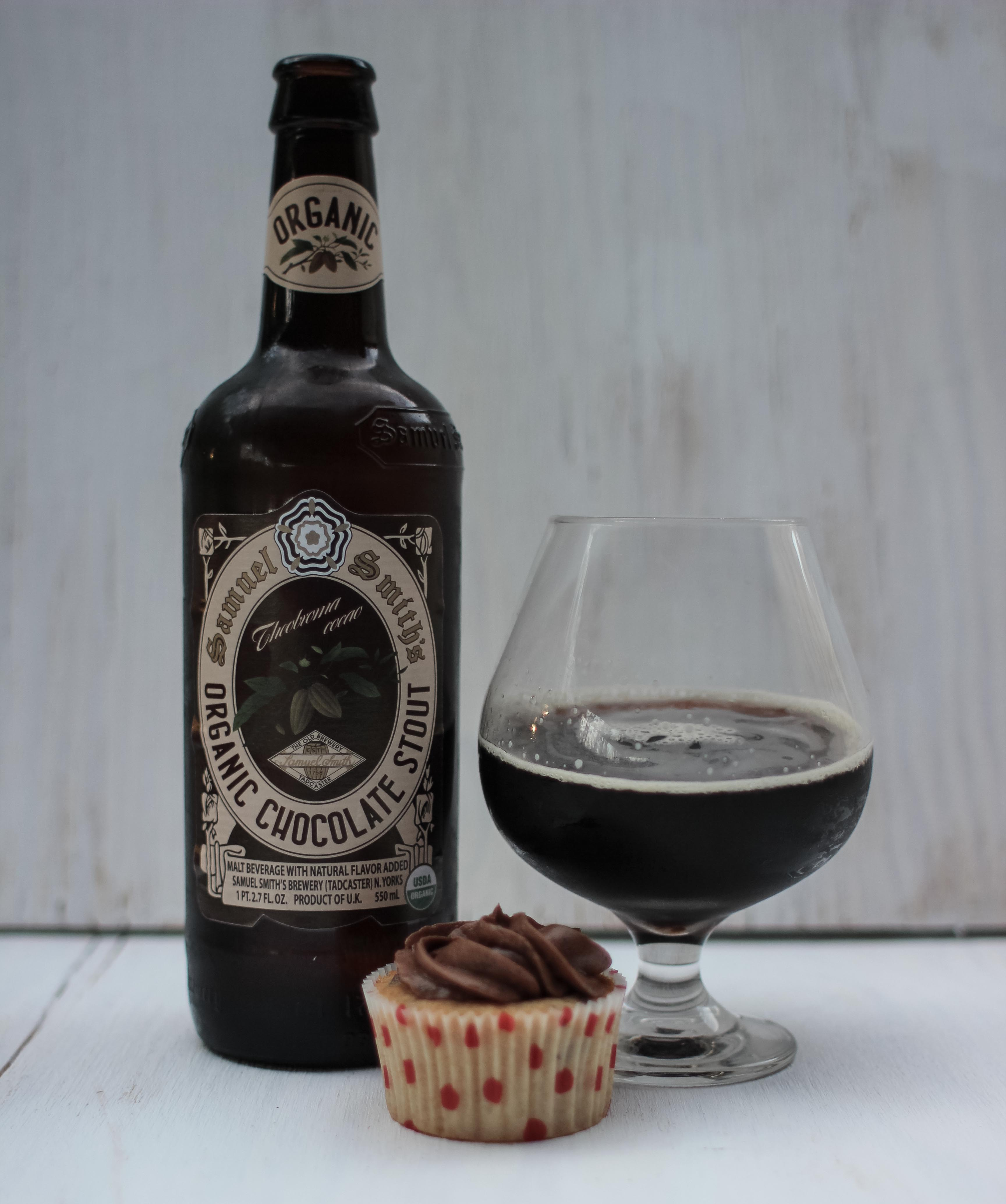 Samuel Smith's Organic Chocolate Stout Cupcakes « Beer and Baking