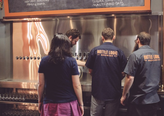 Bottle Logic Brewery Soft Opening-39