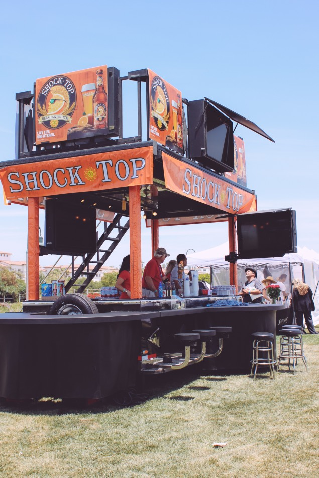 The Shock Top VIP Bar